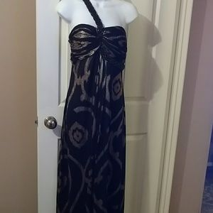 Evening gown by Betsy & Adams